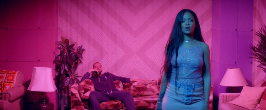 Rihanna's work music video